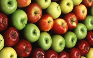 Hidden benefits for apple-eaters